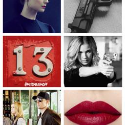 agent13 aethetics marvel redlips gun