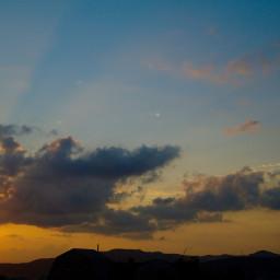 photography sunset msskyandsunsetandclouds