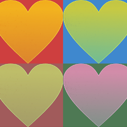 freetoedit hearts colorful