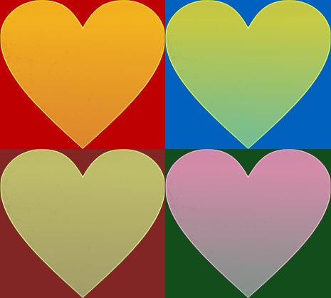 #FreeToEdit #hearts #colorful