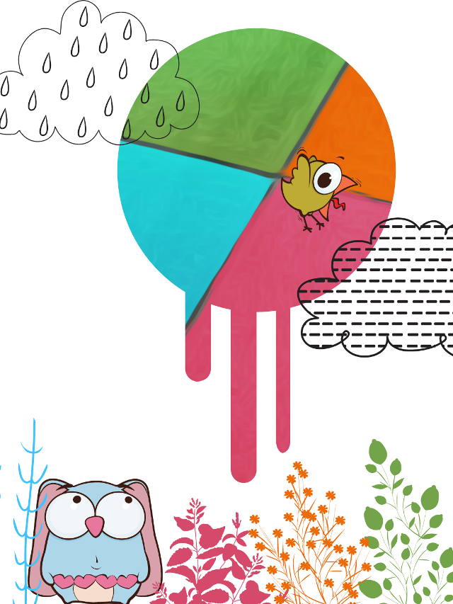 #FreeToEdit  #colorful  #cute  #rain  #emotions  #freetoedit