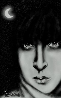 wdpnightsky blackandwhite drawing emotions freehand