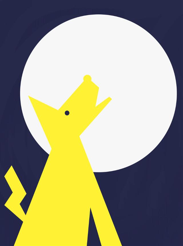 #drawlloween2016 Full moon! #howlingatthemoon #wdptwotone