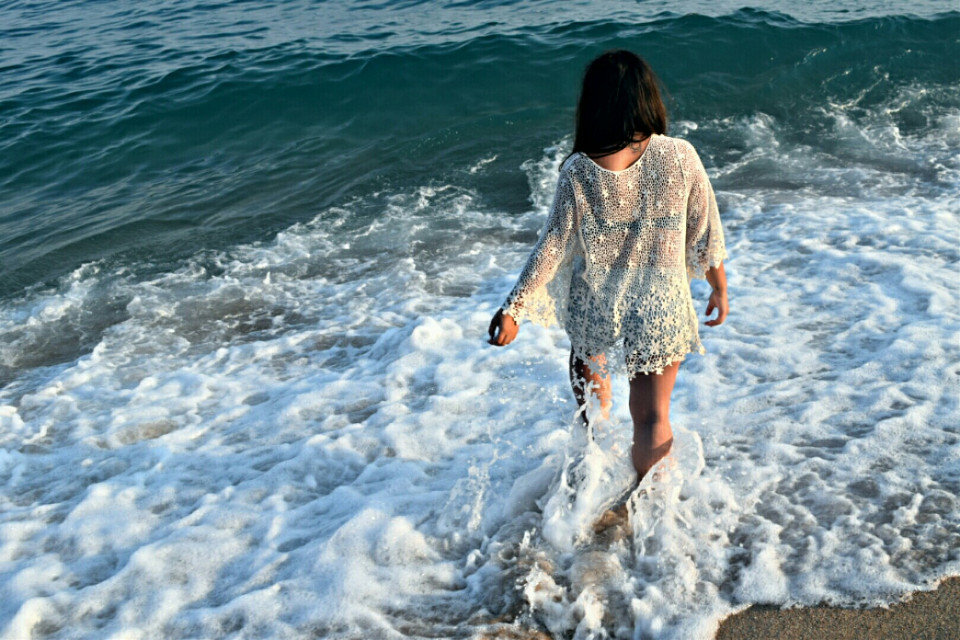 #spain #sea #blueisthewarmestcolor 😊