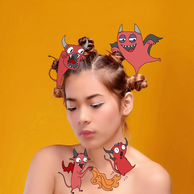 Little devil #FreeToEdit #remix