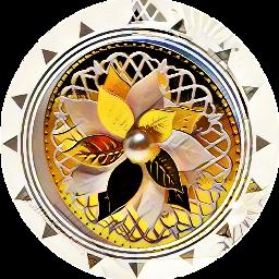 freetoedit magiceffect glamor goldie flowerarrangement