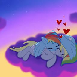 mlp my little pony derpy hooves rainbow dash bff