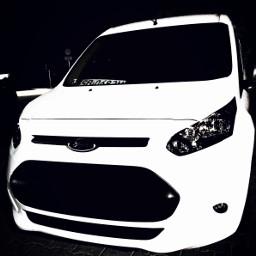 car poland ford whiteandblack whitecar freetoedit