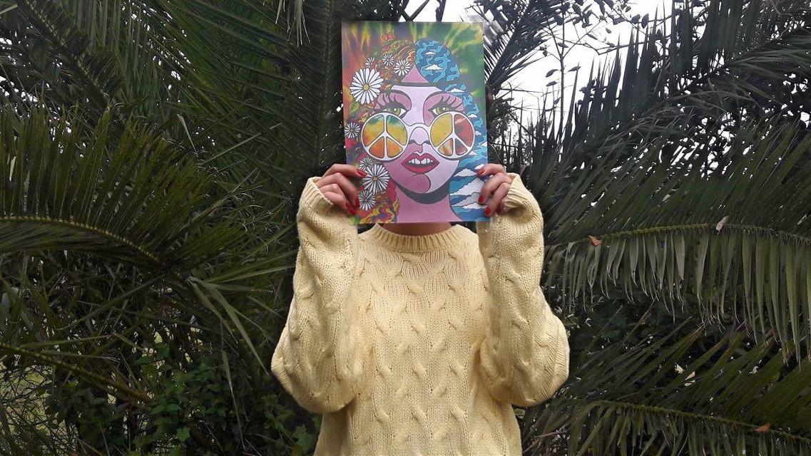 #FreeToEdit  #girl #art