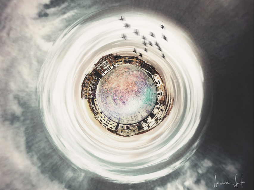 Turn around #FreeToEdit #tinyplaneteffect #twilighteffect #dramaeffect #myedit #waptinyplanet