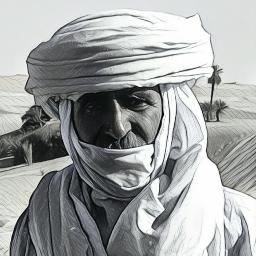 touareg blackandwhite nature travel desert freetoedit