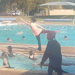ballet dance dancing pool