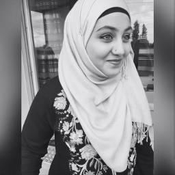 blackandwhite hijab hijabstyle hijabfashion beautifulhijab freetoedit