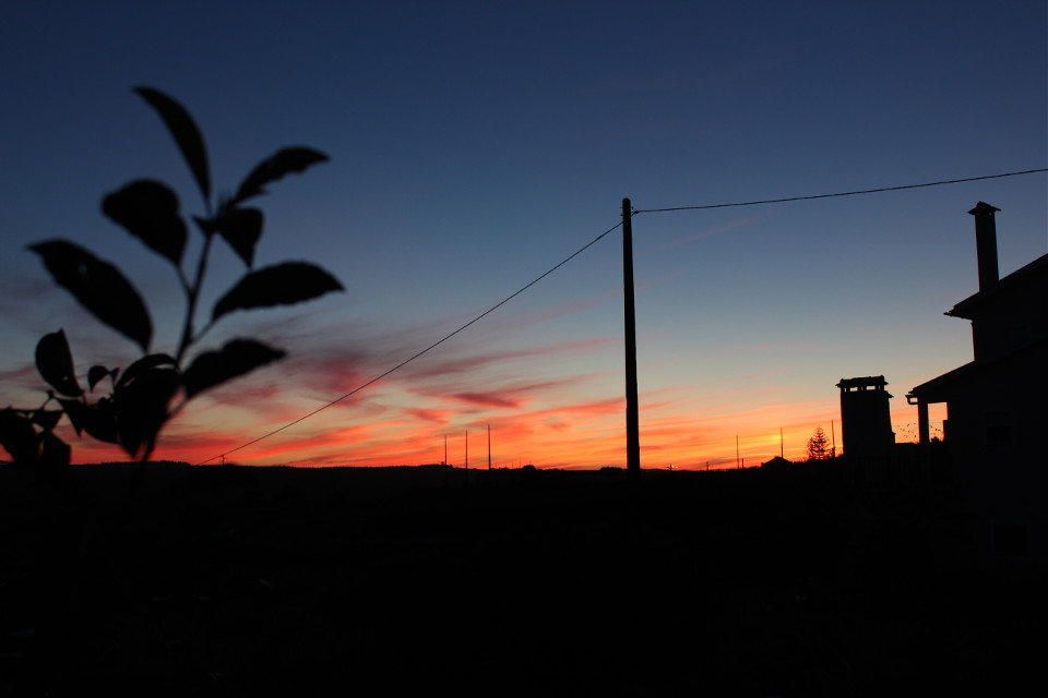 #colorful  #summer  #photography  #nature  #clouds  #sky  #horizon  #nofilter  #noedit  #noeffect  #sunset  #black  #portugal  #silhouette