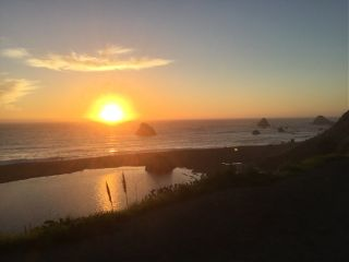 freetoedit ocean sunset reflection