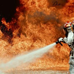 dpcfire fire firemen fireman hot