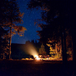 camping campsight beautiful beautifulscenery night dpcfire