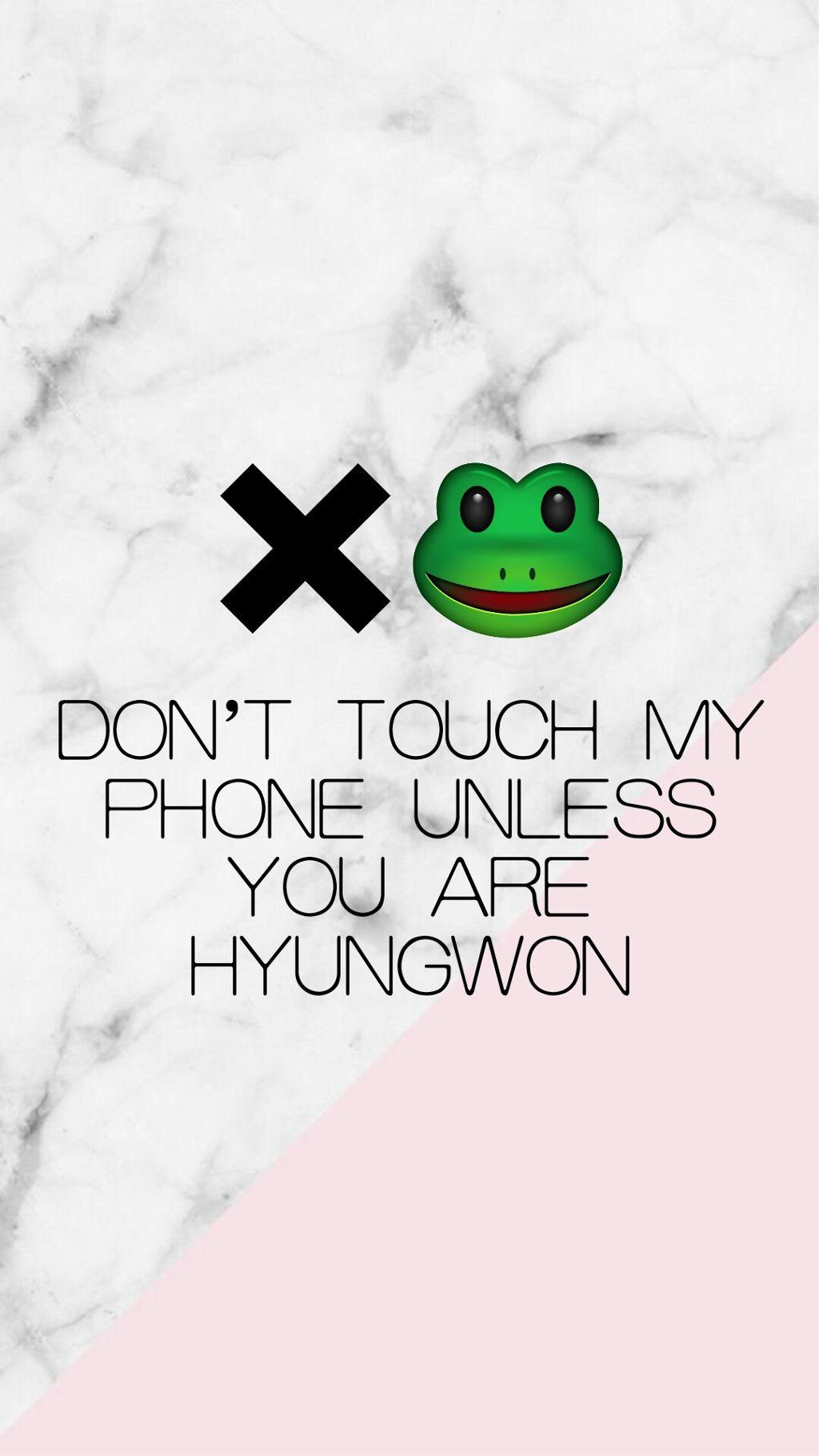 Hyungwon Monstax Kpop Emoji Wallpaper Lockscreen